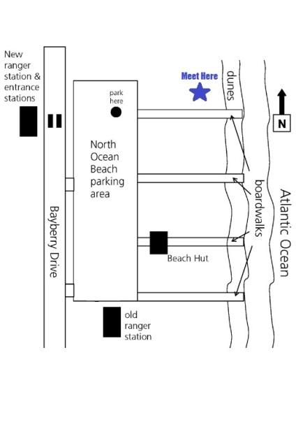 map to Assateague night